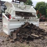 przesiewanie betonu