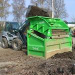 przesiewanie kompostu