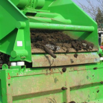 przesiewanie kompostu 50 mm