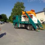 transport przesiewacza KS 2015