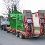 transport przesiewacza KS 2015 2